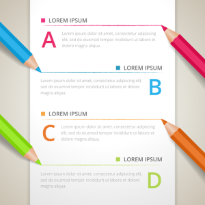 Infographics Pencils