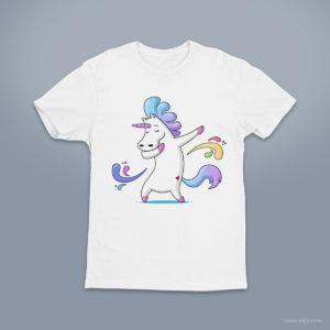 Dabbing Unicorn - Unicorn Dab Dance Funny T-shirt