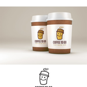 Coffee To Go Logo Template
