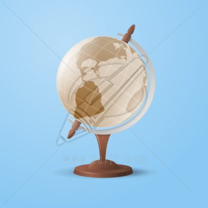 Vintage Globe