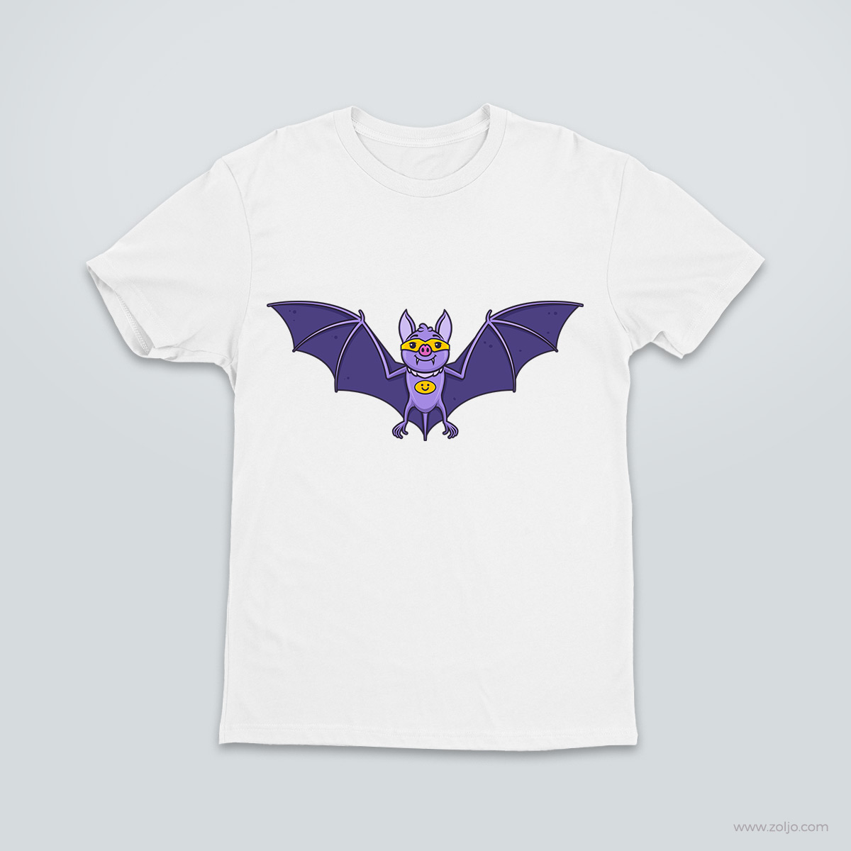 Bat Superhero T shirt